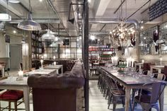 Down the Middle. #restaurant #Interior