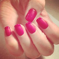 Matte GELeration with glossy tips.