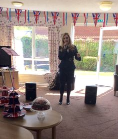 Sophie sings the classics - Birch Green Care Home Skelmersdale