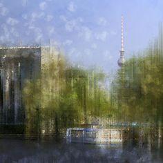 'City-Art BERLIN Bundeskanzleramt' von Melanie Viola bei artflakes.com als Poster oder Kunstdruck. Weitere Shops: http://www.melanieviola-fotodesign.de/shops-kunst-kaufen.html