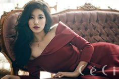 Additional stunning photos of Suzy's 'CeCi' pictorial have been revealed, leaving fans in awe of her