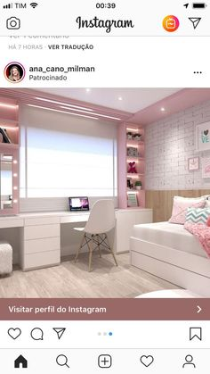 Camera copii - All For Decorations Small Room Bedroom, Girls Bedroom, Bedroom Decor, Teen Bedrooms, Cute Room Decor, Girl Bedroom Designs, Kids Room Design, Dream Rooms, New Room