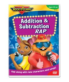 anyone use the Addition & Subtraction Rap DVD by Rock N Learn?  My students always loved these dvds & it's on #zulily today!