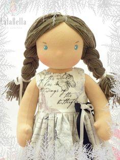 Lalki waldorfskie - LalaBella: Nadia