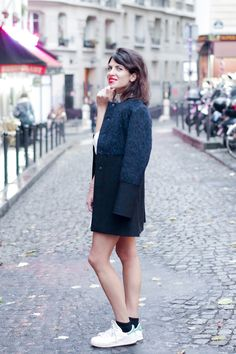 New blog post on Fashion is a Playground, Aurélia is wearing our Bridget bag ! www.annefontaine.com #annefontaine #fashion