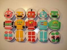 These would be cool for a robot boy baby shower.