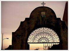 California's San Gabriel old Arcangel mission cemetery