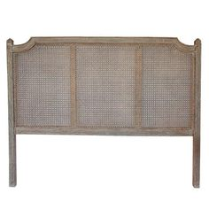 Typical French Rattan bedhead with carved detailing on posts. Composition:Durian, Plywood & Rattan Care:Wipe with soft dry cloth French Country Collections, Home Collections, Rattan, Wicker, Hill Interiors, Round Mirrors, Quality Furniture, Home Textile, Carving