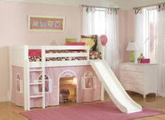 loft beds for toddlers | Cute Kids Room Ideas | Decozilla