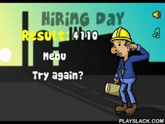 Hiring Day  Android Game - playslack.com , You compete in a duty of a person who is compelled to activity to assist his family.  Your work is to manage the messenger at the plant and not to pass imperfect betters on the formation.  You should demolish failed  commodities.  Postscoring in the game is quite interesting.