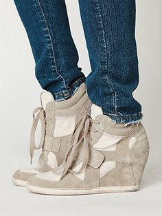 Bowie Wedge Sneaker  http://www.freepeople.com/whats-new/bowie-wedge-sneaker/