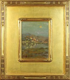 Antique Picture Frames, Antique Frames, Acrilic Paintings, American Impressionism, Framed Art, Wall Art, Paintings I Love, Electronic Art, Mural Painting