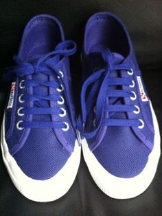 Superga, sneakers from Milan. Laid back chic.