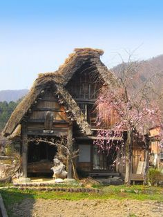 Japan, April 2007. An ogi-machi gassho style village, where people actually live in historic Japanese style buildings | by Pirate Of Your Dreams| deviantART