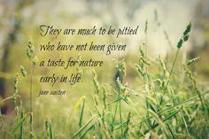 Jane Austen Nature Quote Print Literary by KimberosePhotography