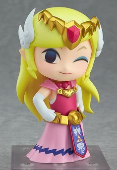 Figurine Nendoroid Zelda - Wind Waker Version (The Legend Of Zelda) GoodSmile Company