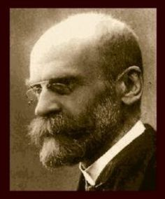 Emile Durkheim - A founding father of the science of sociology.