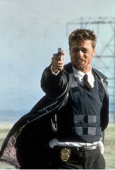 Photo (5 sur 17) du film Seven, avec Brad Pitt, Morgan Freeman