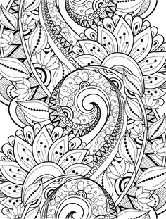 15 crazy busy coloring pages for adults page 6 of 16 nerdy mamma - Color In Pages