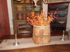 Wonderful old Bucket full of fall picks