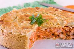 Receita de Torta de camarão Royal em receitas de tortas salgadas, veja essa e outras receitas aqui!