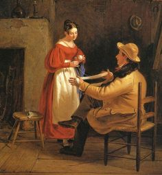 Hand painted reproduction of Courtship (aka Winding Up) 1836 painting. This masterpiece was painted originally by William Sidney Mount. Commission your beautiful hand painted reproduction of Courtship (aka Winding Up) Choose from many different sizes. Long Island, Hudson River School, Google Art Project, Winslow Homer, Romance, Textiles, Yarn Ball, Art Google, American Art