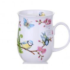 Eden Blue Tit Suffolk shape Mug | TemptationGifts.com