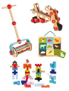 Janod Wooden Toys – European Toys for Babies & Toddlers – Modern Designer Toys | Small for Big