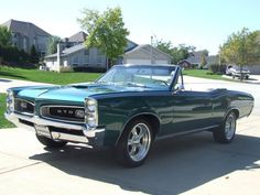 1966 Pontiac GTO Terry Owens car done by Calvo auto body. Car was stolen found in Springfield destroyed.