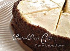 Rattlebridge Farm: Foodie Friday: Low Carb Cheesecake with Butter Pecan Crust
