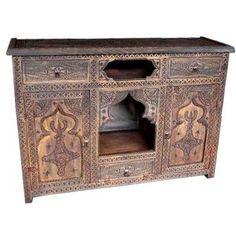 moroccan dresser - Google Search
