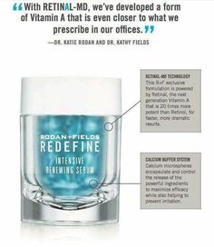 RetinAl in Intensive Renewing Serum ~ what makes it special... stronger than Anything you can get without going to the dermatologist!  Quicker than ever results! https://lskipper2.myrandf.com
