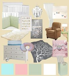 Baby Room Mood Board | Charlie The Cavalier