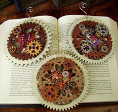 steampunk ornaments | Steampunk Christmas Ornament (Xmas2012-7) - Steampunk Hearts and LARGE ...