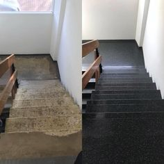 Trap renovatie Trap, Tile Floor, Stairs, Flooring, Home Decor, Stairway, Decoration Home, Room Decor, Tile Flooring