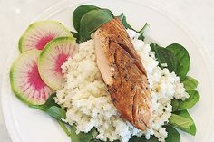 Wild salmon is a favorite of mine. I love the anti-inflammatory omega-3 fatty acids it provides, and the rich taste leaves me feeling so satisfied at the end of a meal. The homemade teriyaki sauce is