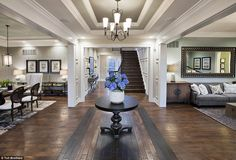 New lease of life: This is one of the redeveloped properties on the sprawling estate, whic...