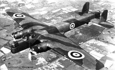 Armstrong Whitworth A.W.38 Whitley --- one of three British twin-engine, front line medium bomber.