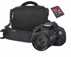 Canon EOS 600D 18-135mm IS DSLR Fotoğraf Makinesi + Çanta + Sandisk 8 GB Clss10 SD Kart Hediye! #canonEOS600D #canonEOS #dslr #fotoğrafMakineleri 2 Yıl #resmiDistribütör #garantili olarak #markafoto 'da www.markafoto.com %100 Güvenli Alışveriş