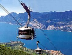 Cableway goes 360 degrees (Garda)