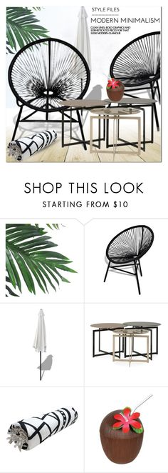 """Coconut"" by ansev ❤ liked on Polyvore featuring interior, interiors, interior design, home, home decor and interior decorating"