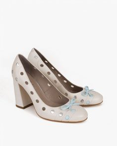 Czółenka 063 -3797-BEZ Spring Is Coming, Crazy Shoes, Peeps, Peep Toe, Fashion, Moda, Fashion Styles, Fashion Illustrations