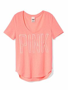 Love Pink VS t shirt sequins | Random happiness | Pinterest | T ...
