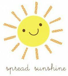 Free sunshine!!