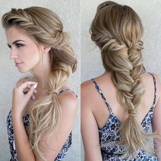 Twisted Bridal Braid - The Prettiest Romantic Hairstyles to Try Right Now - Photos