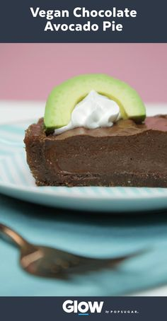 This vegan chocolate avocado pie is sure to be a crowd-pleaser!