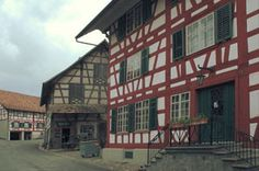 Ortsbildschutz Hirschen-Ensemble Hospitality, Multi Story Building, Gems, Gemstones, Rhinestones, Emerald