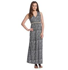 Product: Notations® All Over Stripe Maxi Dress