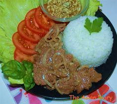 The Asian Diary: Khmer Beef Lok Lak...ChikChak & Great Taste! (Chhar Lok Lak Sach Ko)