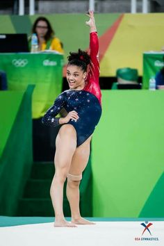 """Laurie Hernandez shows the reasoning behind her nickname, """"the Human Emoji"""" during her floor routine at the 2016 Rio Olympics Team Usa Gymnastics, Gymnastics Floor, Gymnastics Quotes, Gymnastics Posters, Amazing Gymnastics, Gymnastics Pictures, Artistic Gymnastics, Olympic Gymnastics, Olympic Team"""